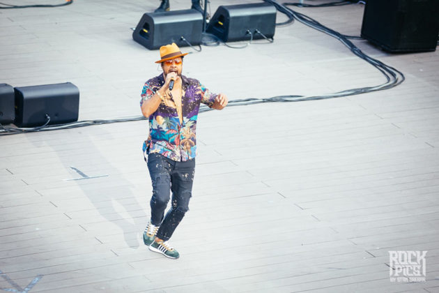 Picture of the Sting & Shaggy concert in Bulgaria by Stan Srebar