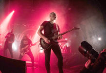 Picture of Soilwork in concert by Kasper Pasinski