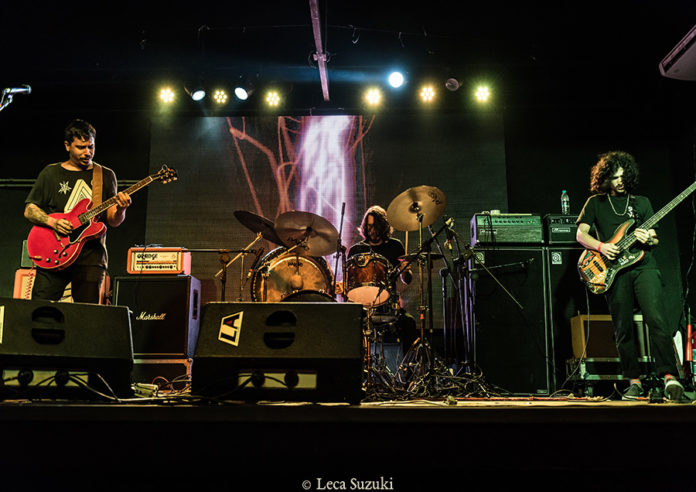Picture of Psilocibina in concert with photography by Leca Suzuki