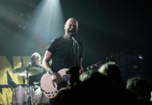Picture of Danko Jones in concert with rock concert photography by Kasper Pasinski