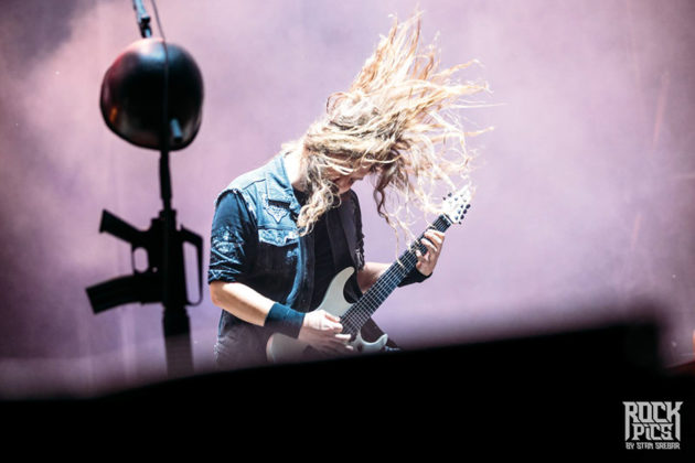 Picture of Sabaton in concert with Hills of Rock concert photography by Stan Srebar