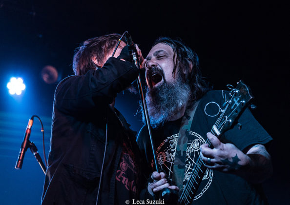 Picture of Eyehategod in concert with Brazil concert photography by Leca Suzuki