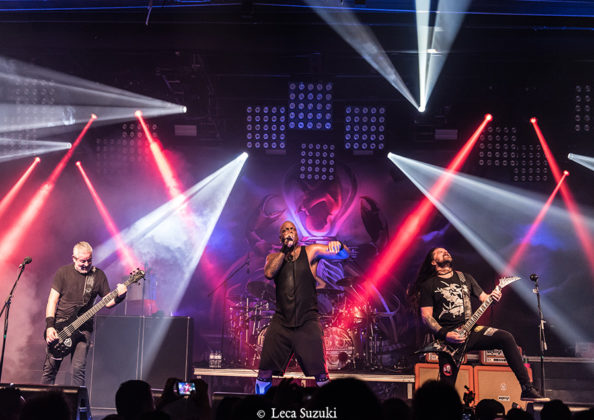 Picture of Sepultura in concert with Brazil gig photographer Leca Suzuki