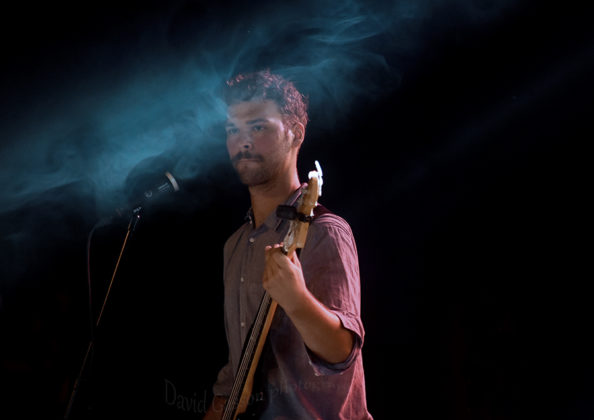 Picture of Darko Rundek in concert by Rock music photographer by David Gasson