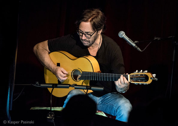 Picture of Al Di Meola in concert with Jazz photography by Denmark music photographer by Kasper Pasinski