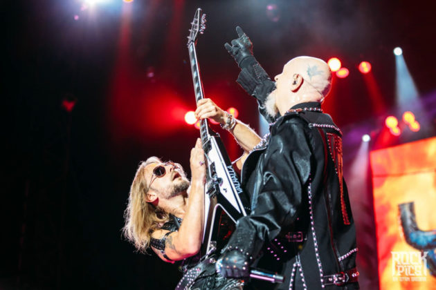 Picture of Judas Priest in concert by Bulgaria music photographer Stan Srebar