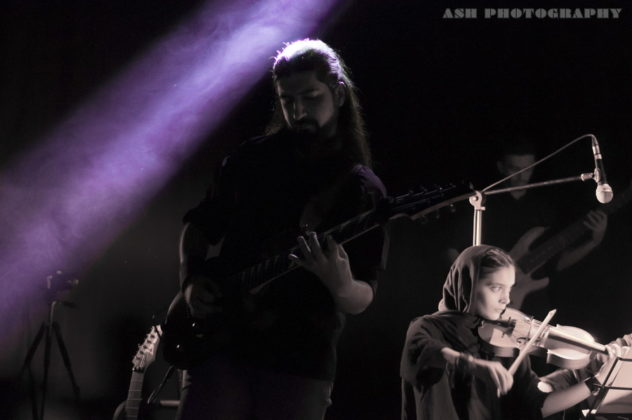 Picture of Atria in concert by Iran Music and Pit photographer Arman Shahrokh