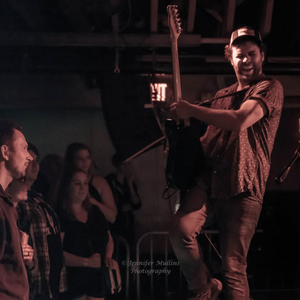 Picture of Jared & The Mill in concert by American MusicPhotographer Jennifer Mullins
