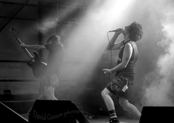 Picture of Left to Starve in concert at the The 26th Monteparadiso Hardcore Punk Festivalby Croatian Music and Pit photographer David Gasson