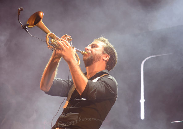 Picture of Parov Stelar in concert in Pula by Croatian Music and Pit photographer David Gasson