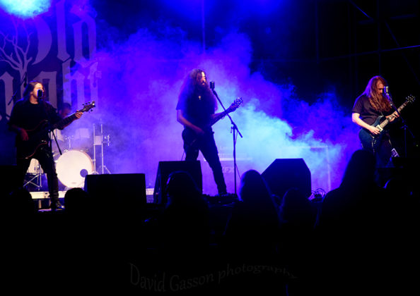 Picture of Old night in concert at the GoatHell Metal Festby Croatian Music and Pit photographer David Gasson