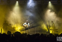 Picture of Dean Lewis in concert Australia music photographer Deb Kloeden