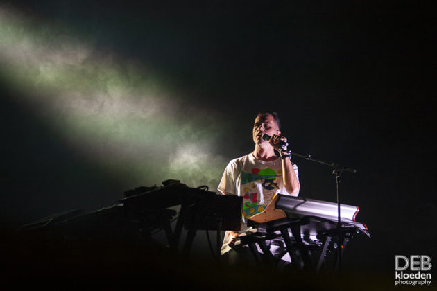 Picture of The Presets in concert by Australia music photographer Deb Kloeden