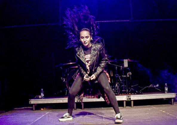 Picture of Jinjer in concert at the GoatHell Metal Festin Croatia by Croatian Music and Pit photographer David Gasson