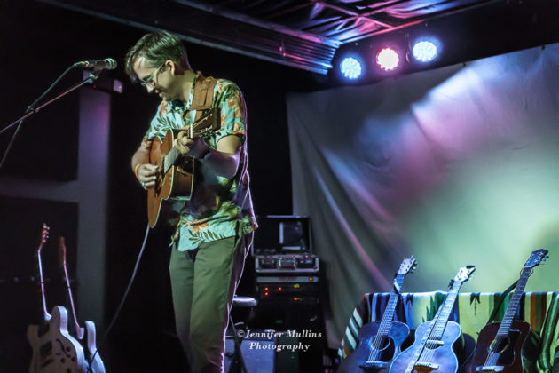 Picture of Dylan Pratt in concert at The Rebel Lounge in Arizona by American Music Photographer Jennifer Mullins