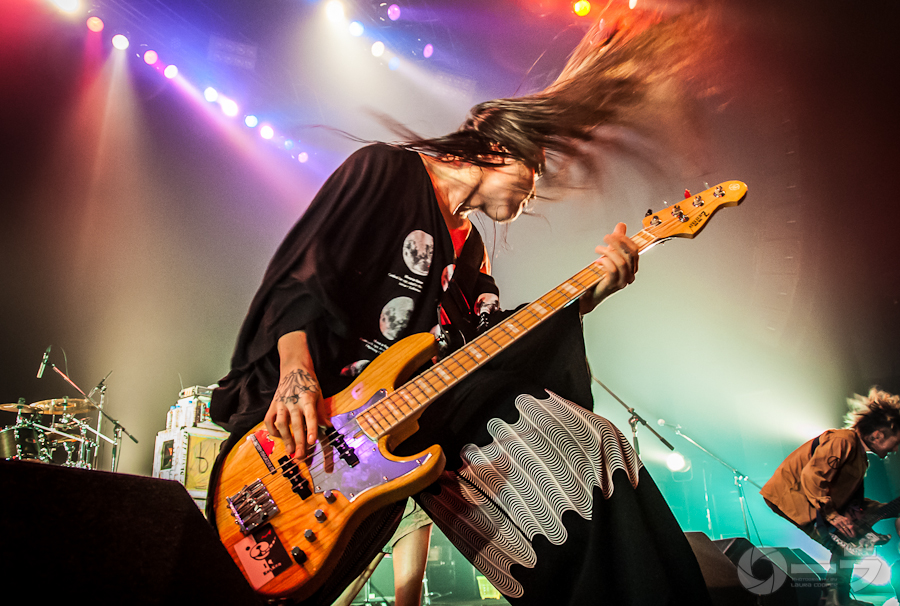 Picture of Rize in concert by Japan Music and Pit photographer Laura Cooper