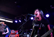 Picture of Nervosa in concert at Beta by Copenhagen Music and Pit photographer Kasper Pasinski