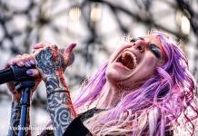 Picture of Stitched Up Heart in concert in Indiana by American Music Photographer Andrew Perkins