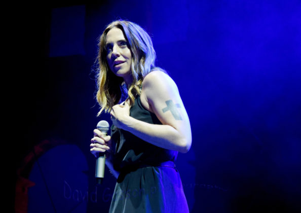 Picture of Mel C in concert with photography by David Gasson