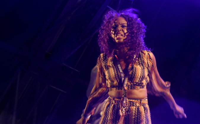 Picture of Lady Chann at the outlook festival by David Gasson