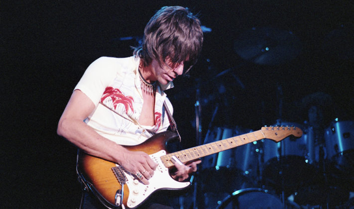 Picture of Jeff Beck in concert by Bill O'Leary