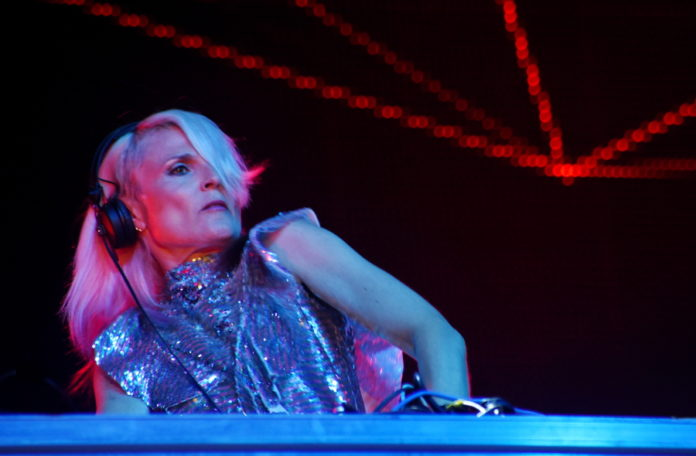 Picture of Faithless Sister Bliss at the Rise up festival by David Gasson