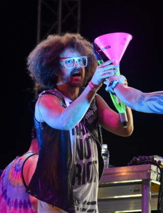 Picture of Redfoo and the Party Crew in concert by David Gasson