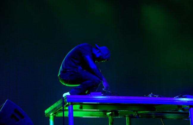 Picture of Rudimental DJ set with DJ Locksmith by David Gasson