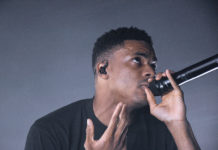 Picture of Vince Staples in concert by Vivian Danielle