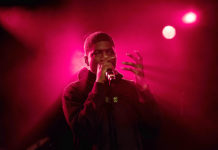 Picture of Mick Jenkins in concert taken by Denmark music photographer Kasper Pasinski