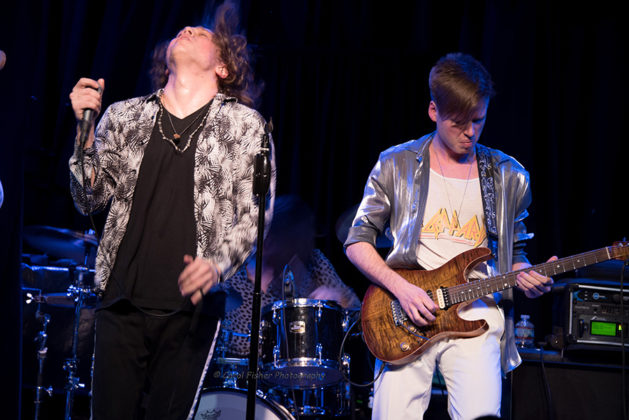 Picture of Tempt in concert with photography by Carol Fisher
