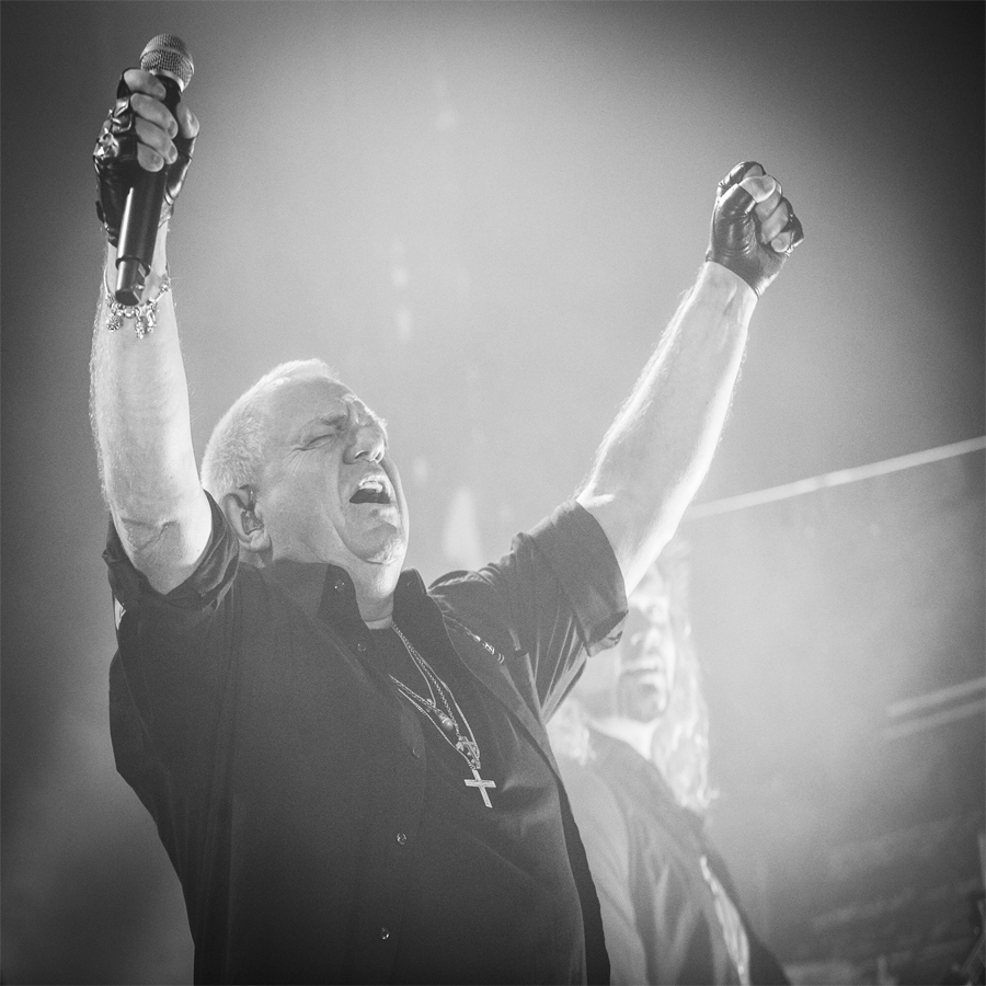 Rock Concert picture taken by Sweden music photographer Marcus Vilson