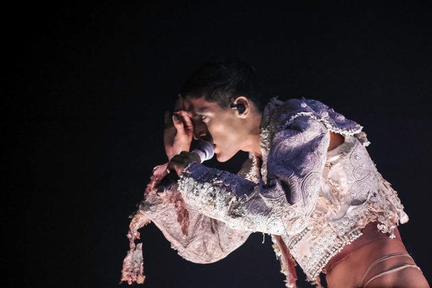 Picture of Arca in concert by Kevin McGann