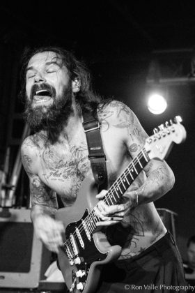 Picture of Biffy Clyro in concert taken by the American music photographer Ron Valle