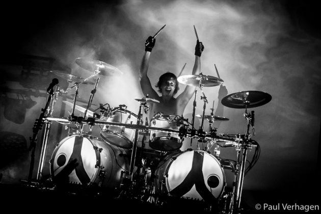picture of Gojira in concert taken by the Netherlands concert photographer Paul Verhagen