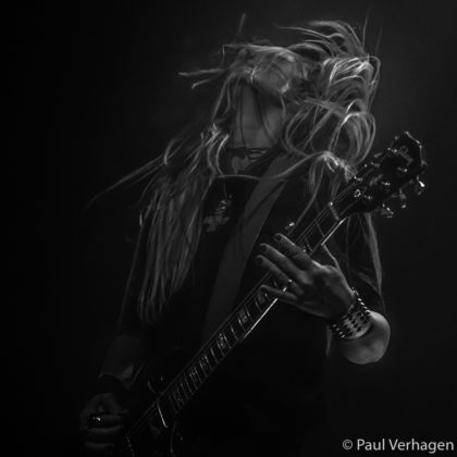 picture of Electric Wizzard in concert taken by the Netherlands concert photographer Paul Verhagen