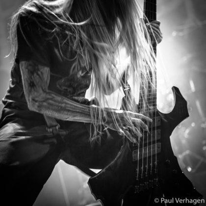 picture of Suffocation in concert taken by the Netherlands concert photographer Paul Verhagen