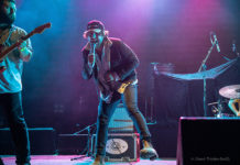 Picture of Bad Dreems in concert by music photographer Naomi Dryden-Smith