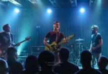 Picture of the rock band El West in concert taken by Jennifer Mullins