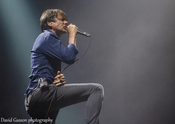 Picture of the indie rock band Suede in concert at the INmusic festival taken by David Gasson
