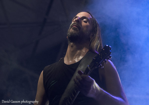 Picture of the melodic death metal band Ephyra in concert taken by David Gasson