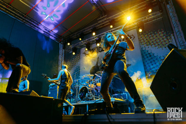 Picture of the heavy metal band Voice Of Ruin in concert taken by Stan Srebar