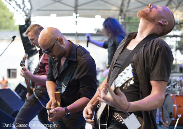 Picture of the Melodic Death Metal band April Weeps in concert taken by David Gasson