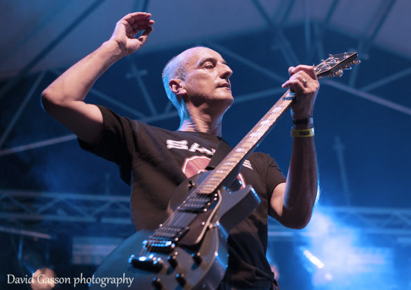 Picture of the punk rock band Sake from Pula in concert taken at the punk festival by David Gasson