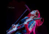 Picture of Lita Ford in concert by Ruth Preston