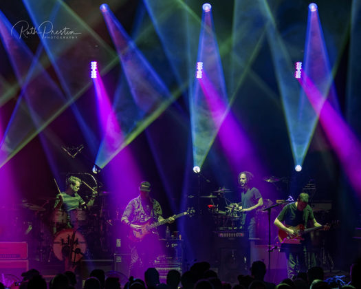 Picture of Umphreys McGee in concert taken by by Ruth Preston
