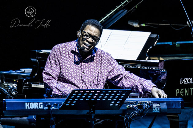 Picture of the Jazz musician Herbie Hancock taken by Daniele Fadda