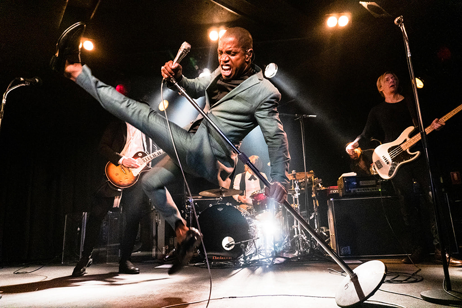 Picture of Vintage Trouble in concert taken by Brittany Long