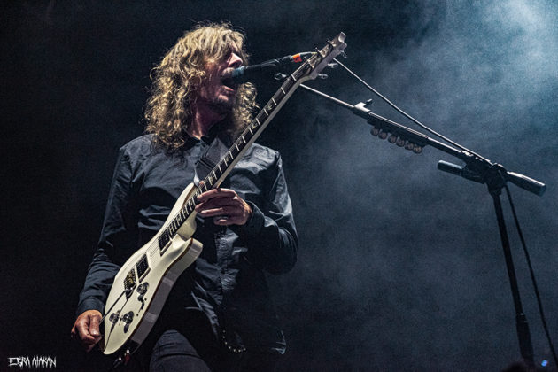 Picture of the band Opeth in concert taken by Esra Atakan