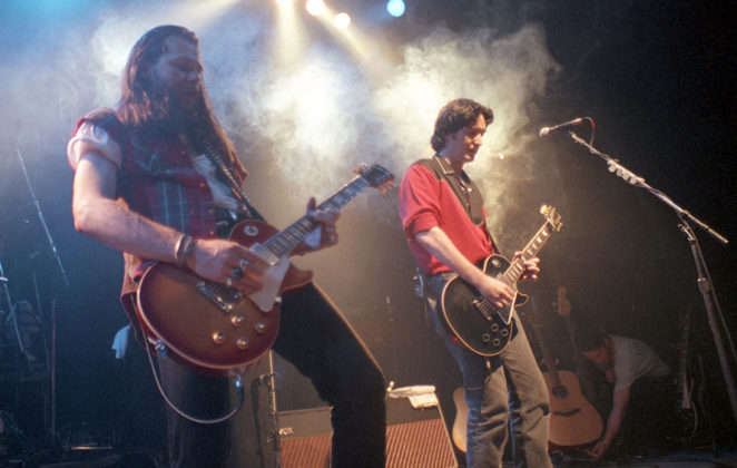 Picture of the rock band Del Amitri in concert by Bill O'Leary